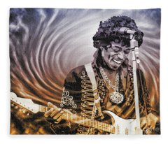 Jimi Hendrix - Legend Fleece Blanket
