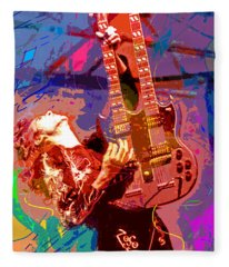 Jimmy Page Stairway To Heaven Fleece Blanket