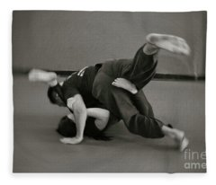 Jiu Jitsu Fleece Blanket
