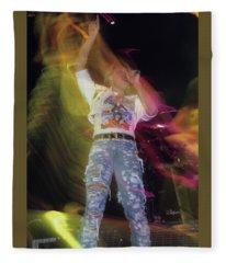 Joe Elliott With Def Leppard Fleece Blanket