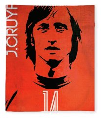 Johan Cruyff Fleece Blanket