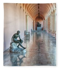 John And Mable Ringling Museum Of Art Fleece Blanket