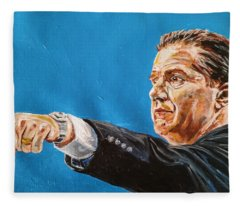 John Calipari Fleece Blanket