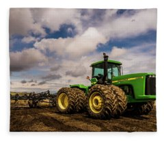 John Deere 9200 Fleece Blanket