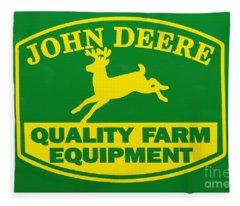 John Deere Fleece Blankets