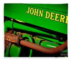 John Deere Tractor Mystery Fleece Blanket
