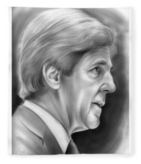 John Kerry Fleece Blanket