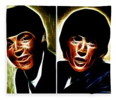 John, Paul, George And Ringo Fleece Blanket