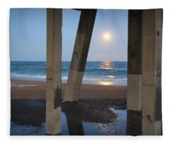 Johnnie Mercers Pier Again Fleece Blanket