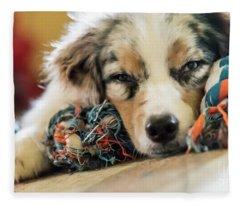 Joke Of The Day Fleece Blanket