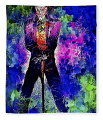 Joker Night Fleece Blanket