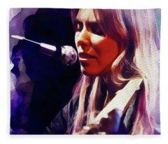 Joni Mitchell, Music Legend Fleece Blanket
