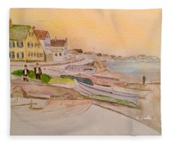 Joppa Flats Newburyport Fleece Blanket