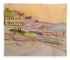Joppa Flats Newburyport Fleece Blanket