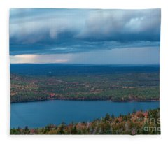 Jordan Pond Fleece Blanket