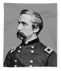 Joshua Lawrence Chamberlain Fleece Blanket