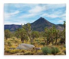 Joshua Tree Forest Fleece Blanket