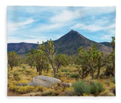 Joshua Tree Forest Fleece Blanket