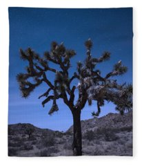 Joshua Tree Fleece Blanket