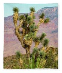 Joshua Tree Of The Desert Fleece Blanket