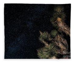 Joshua's Stars Fleece Blanket