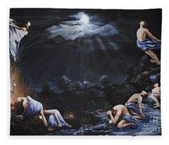 Journey Into Self Fleece Blanket