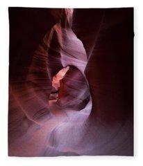 Journey Thru The Shadows Fleece Blanket