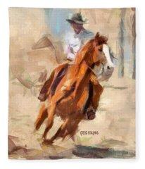 Joy Ride Fleece Blanket