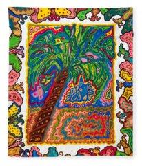Joyful Flight - II Fleece Blanket