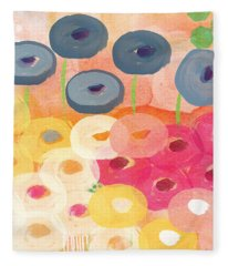 Joyful Garden 3 Fleece Blanket
