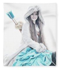Joylene 1  Fleece Blanket
