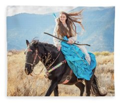 Joylene 4 Fleece Blanket