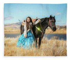 Joylene 7 Fleece Blanket