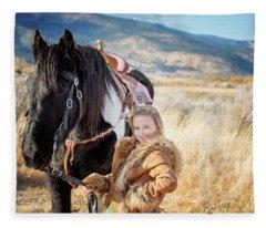 Joylene 8 Fleece Blanket