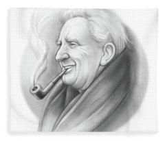 Jrr Tolkien Fleece Blanket
