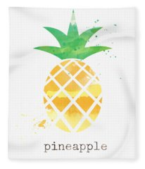 Juicy Pineapple Fleece Blanket