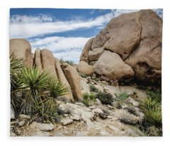 Jumbo Rocks Fleece Blanket