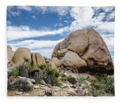 Jumbo Rocks No.2 Fleece Blanket