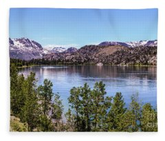 June Lake Fleece Blanket