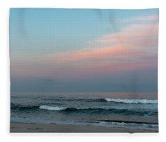June Sky Seaside New Jersey Fleece Blanket