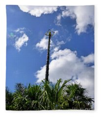 Jungle Bungee Tower Fleece Blanket