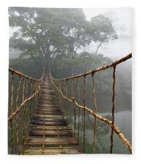 Jungle Journey 2 Fleece Blanket