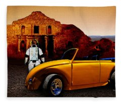 Juni Do You Remember The Alamo? Fleece Blanket