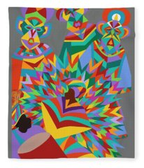 Junkanoo Fleece Blanket