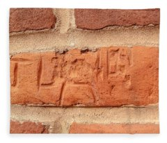 Just Another Brick In The Wall Fleece Blanket
