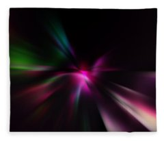 Just Color Fleece Blanket