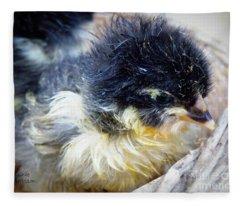 Just Hatched Fleece Blanket