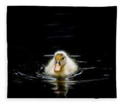 Just Swimming Fleece Blanket