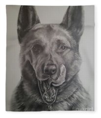K9  Fleece Blanket