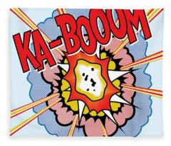 Ka-booom Fleece Blanket